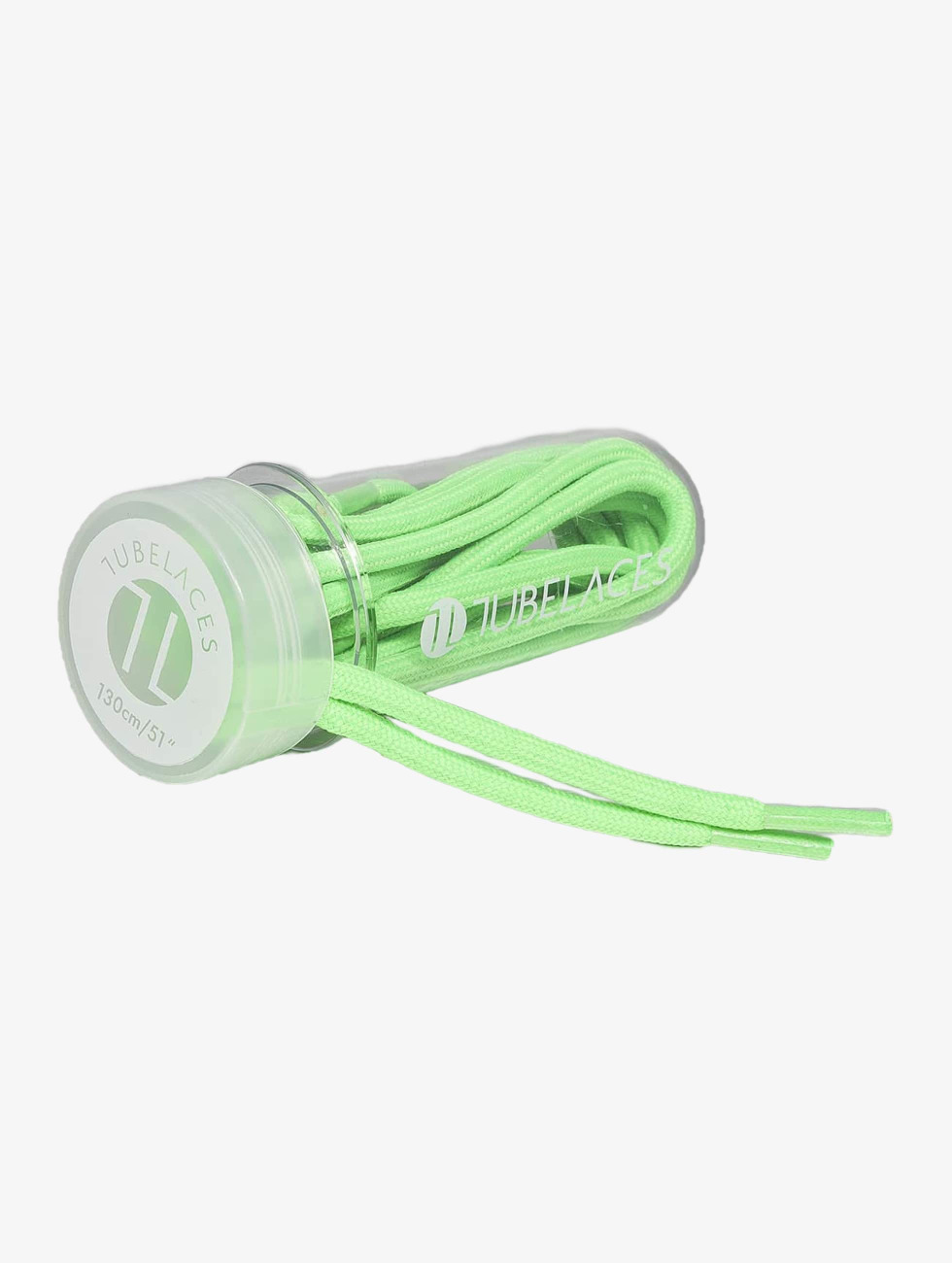 Tubelaces шнурки Rope Solid зеленый