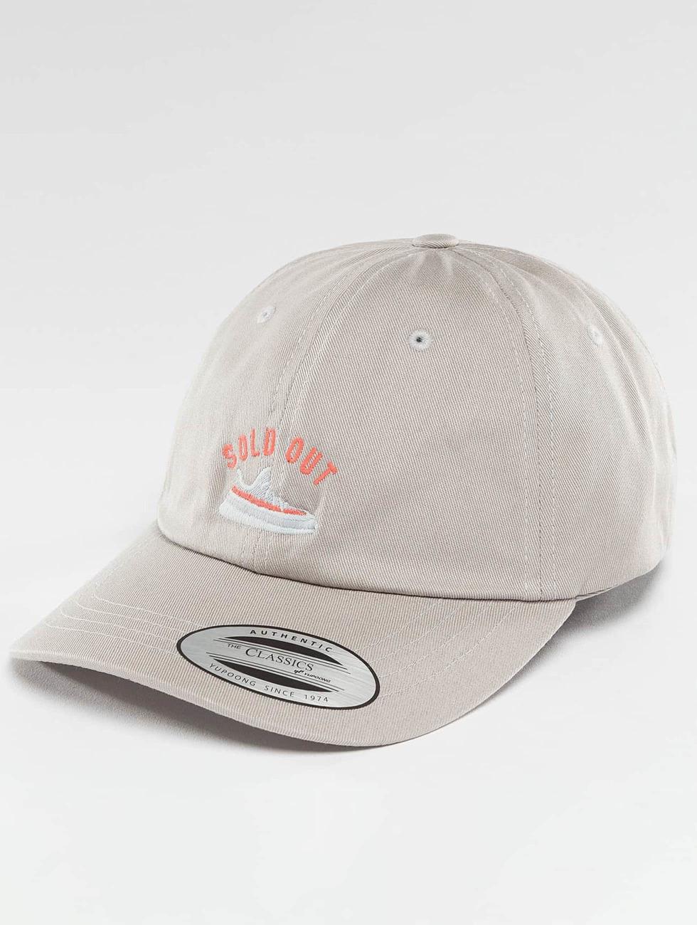 TurnUP snapback cap Raffle zilver