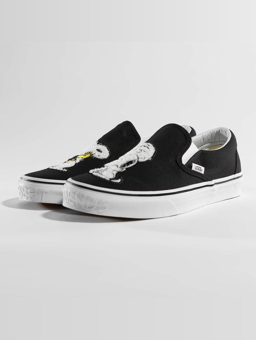 Vans Sneaker Peanuts Classic Slip On nero