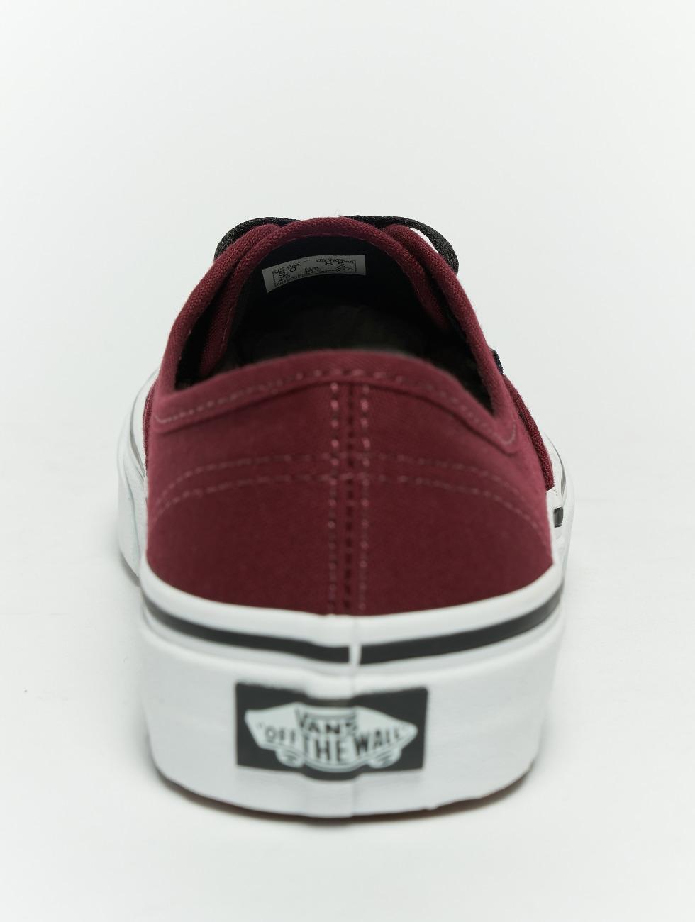 Vans Sneakers Authentic red