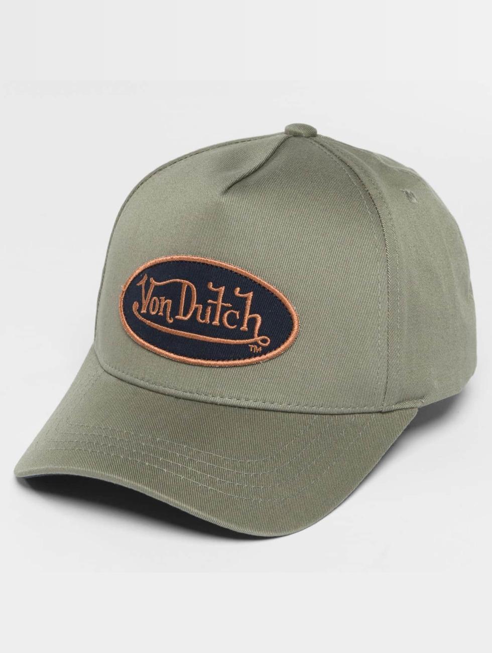 Von Dutch Snapback Classic šedá