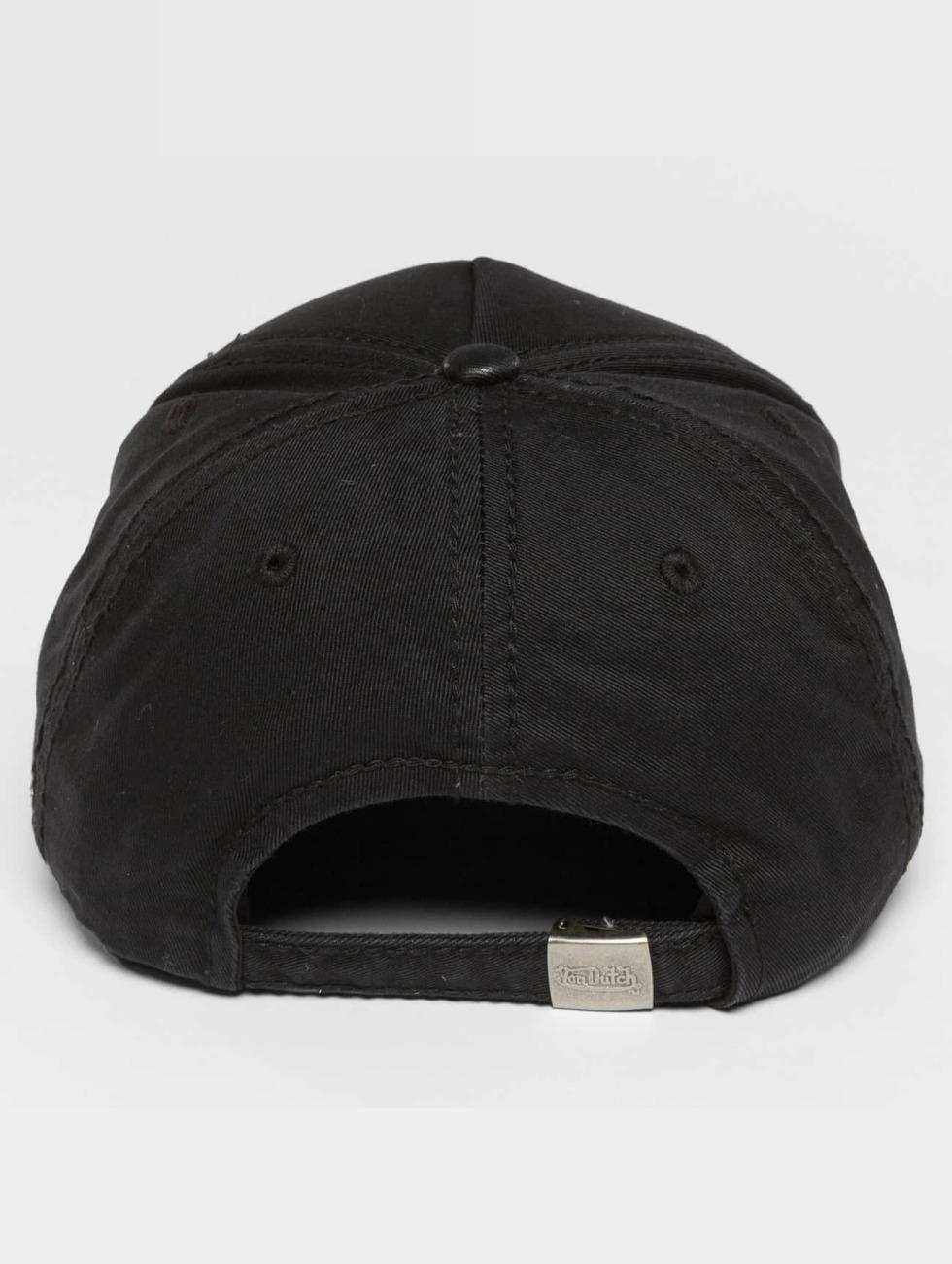 Von Dutch Snapback Cap Pad black