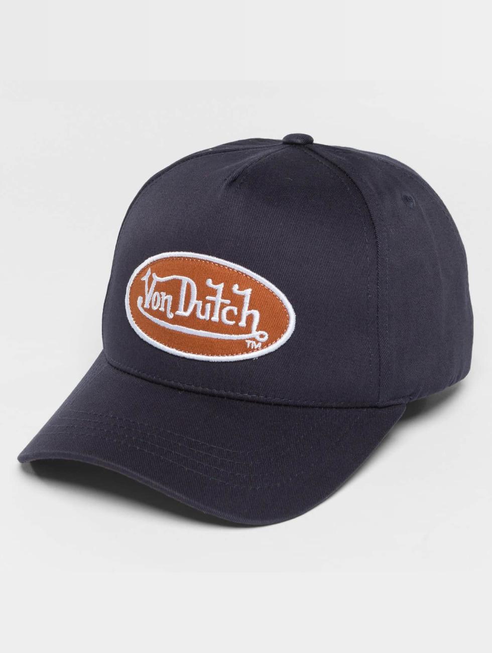 Von Dutch Snapback Classic modrá