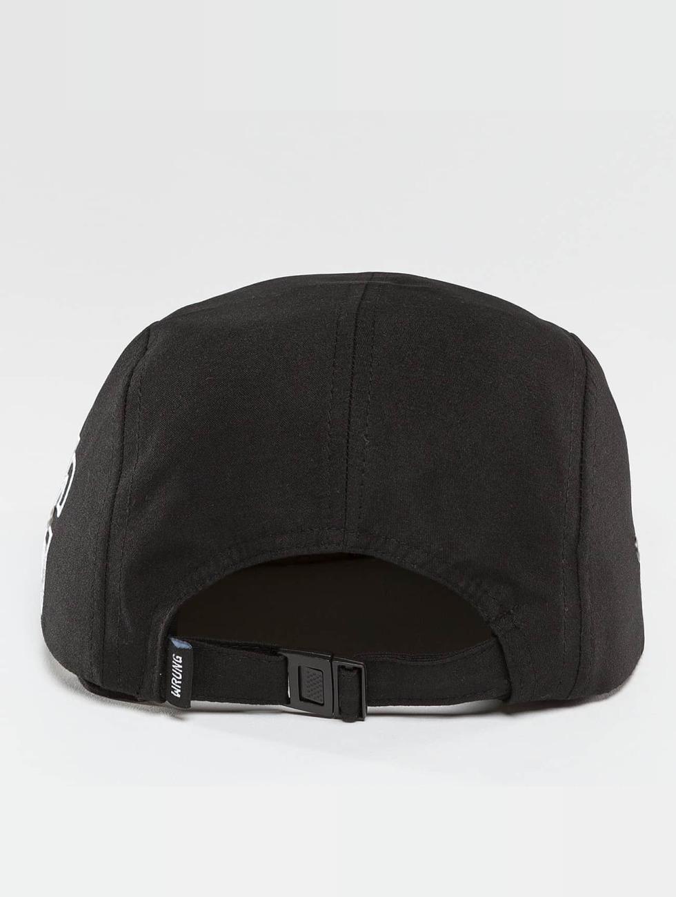 Wrung Division 5 Panel Caps Side schwarz