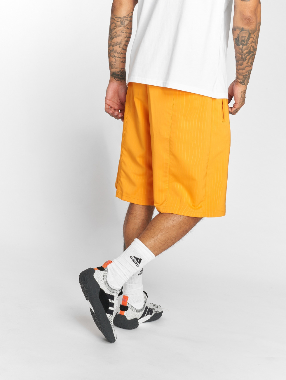 adidas originals shorts Long oranje