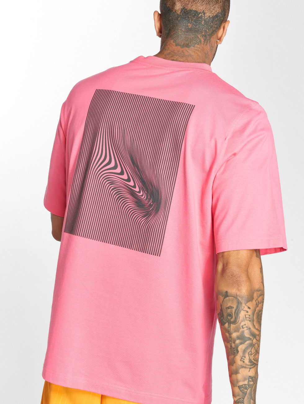 adidas originals T-Shirt Backprint pink
