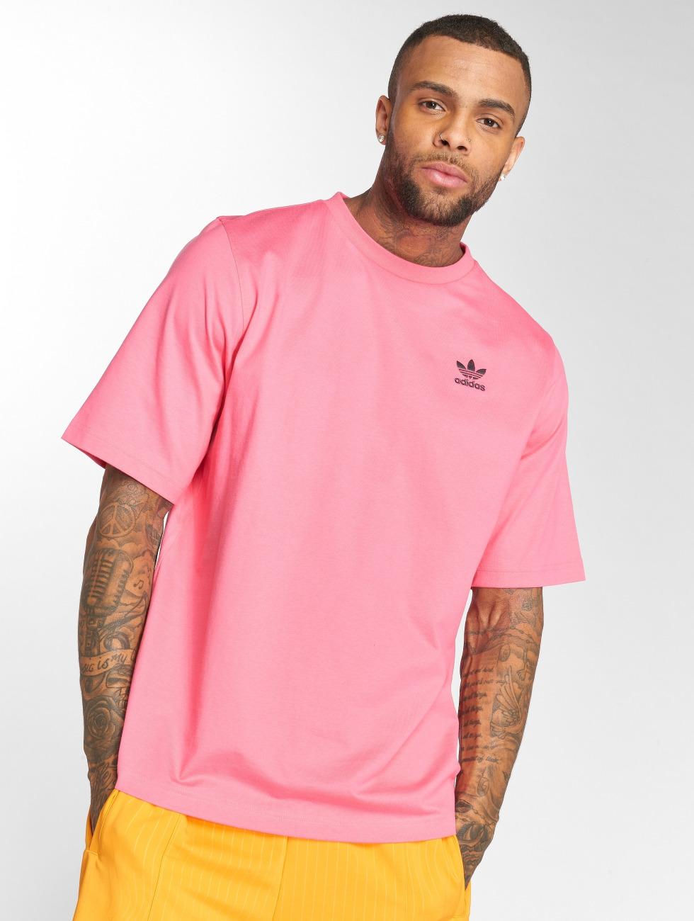 adidas originals T-Shirty Backprint pink