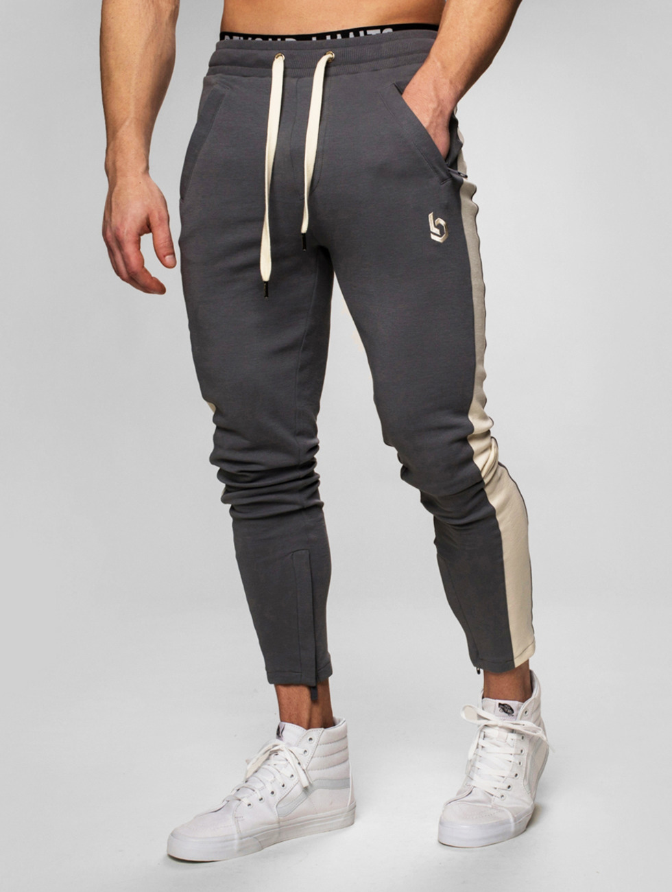 Beyond Limits Pantalone ginnico Foundation grigio