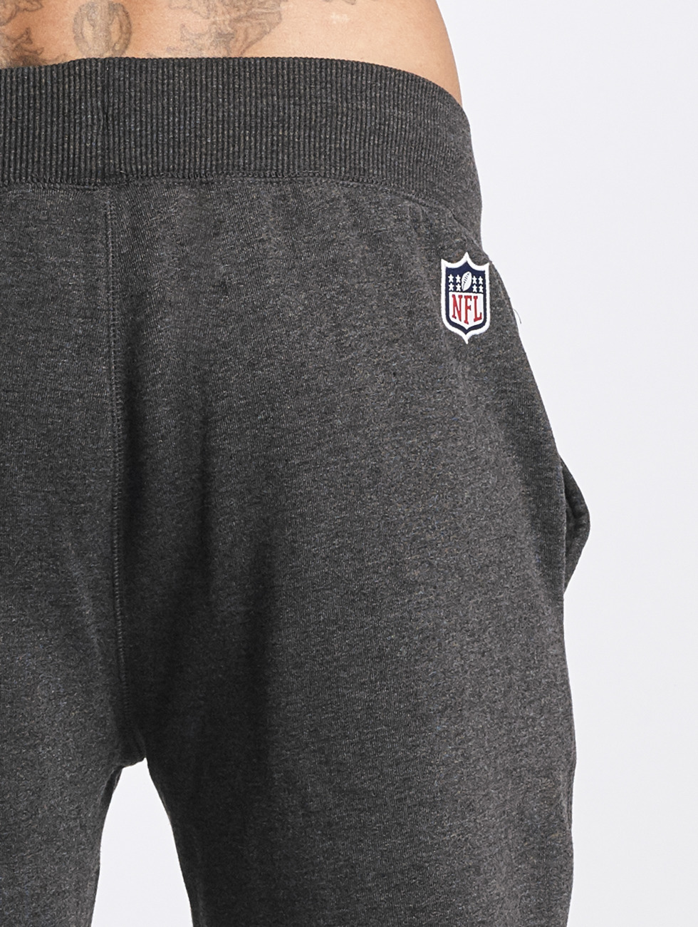 New Era Jogging Team Wordmark Oakland Raiders Tracker gris
