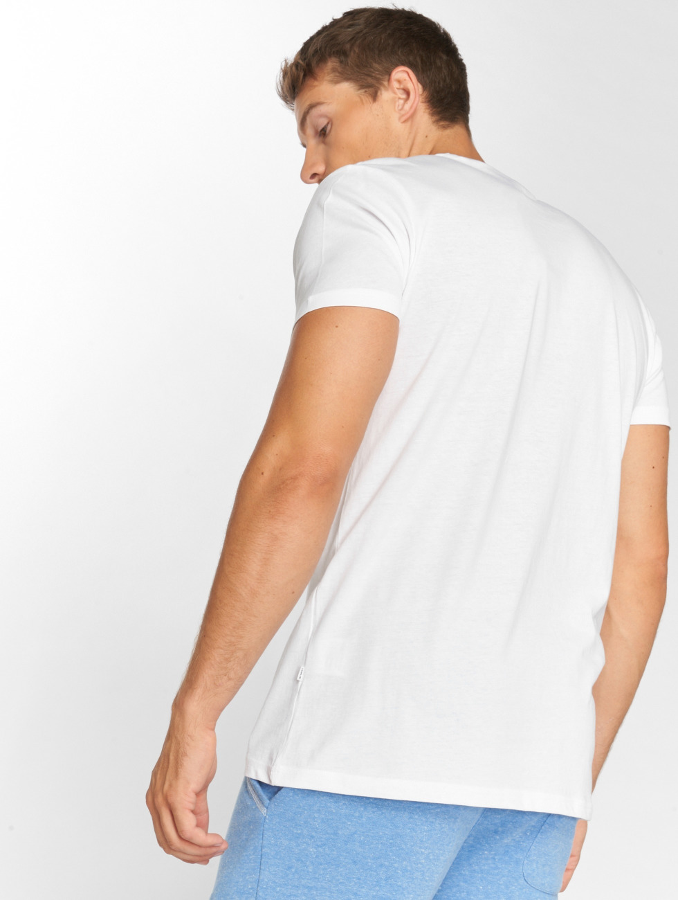 Solid T-shirt Otar bianco