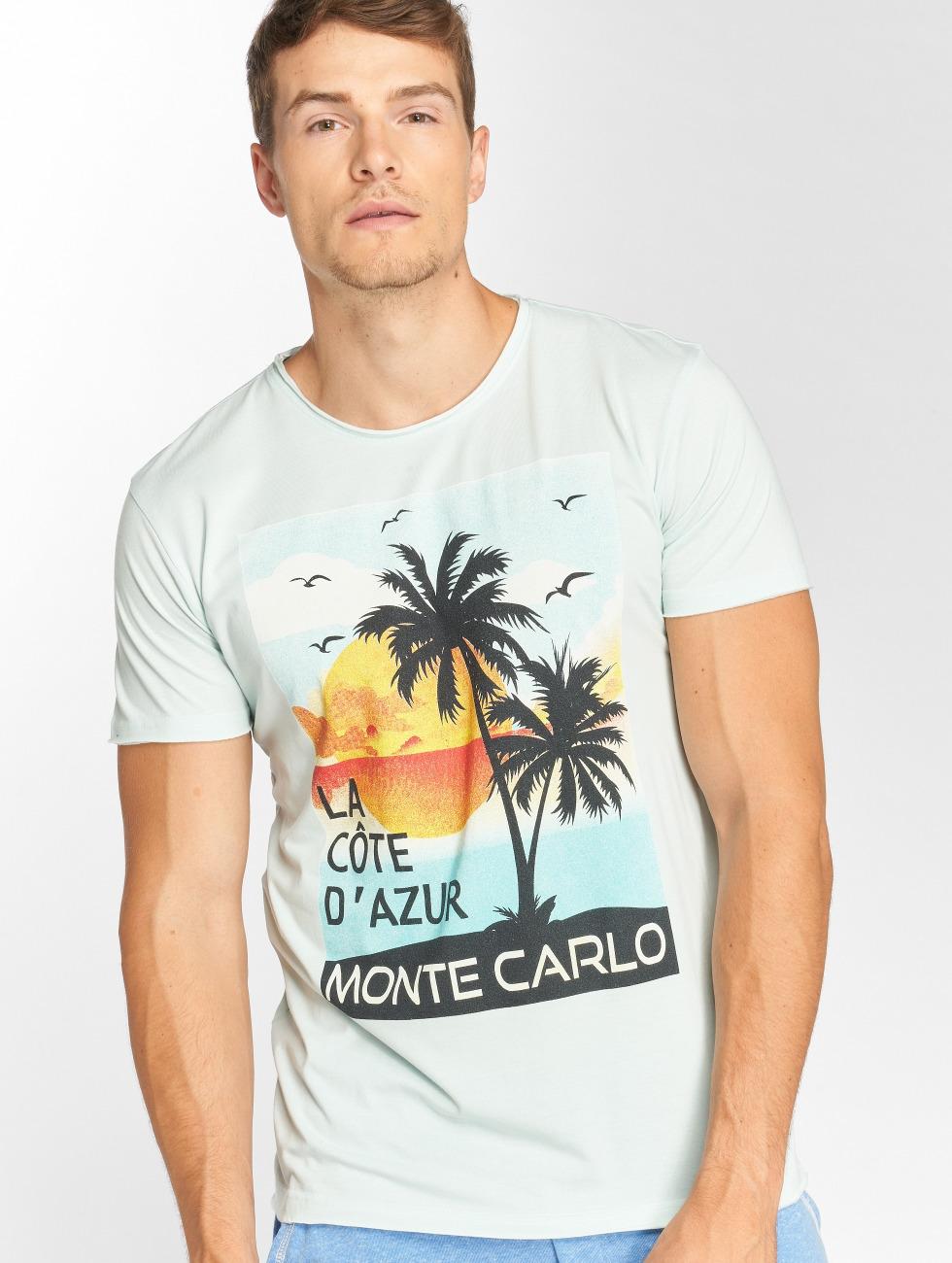 Solid T-shirt Orin blå