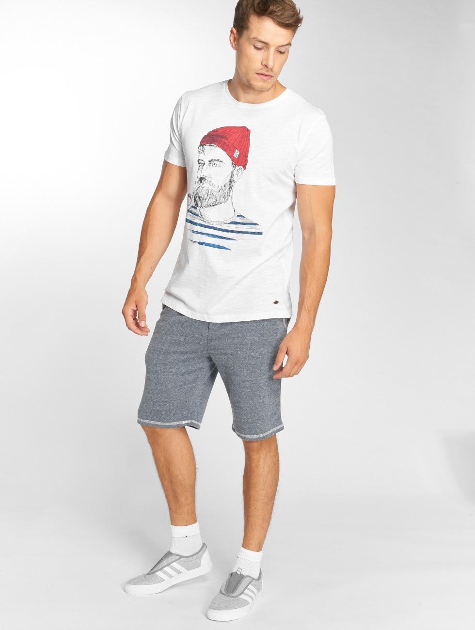 Solid T-Shirt Odissan blanc