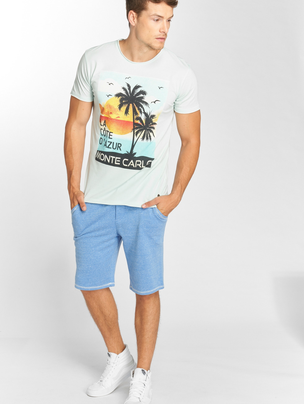 Solid T-Shirt Orin blue