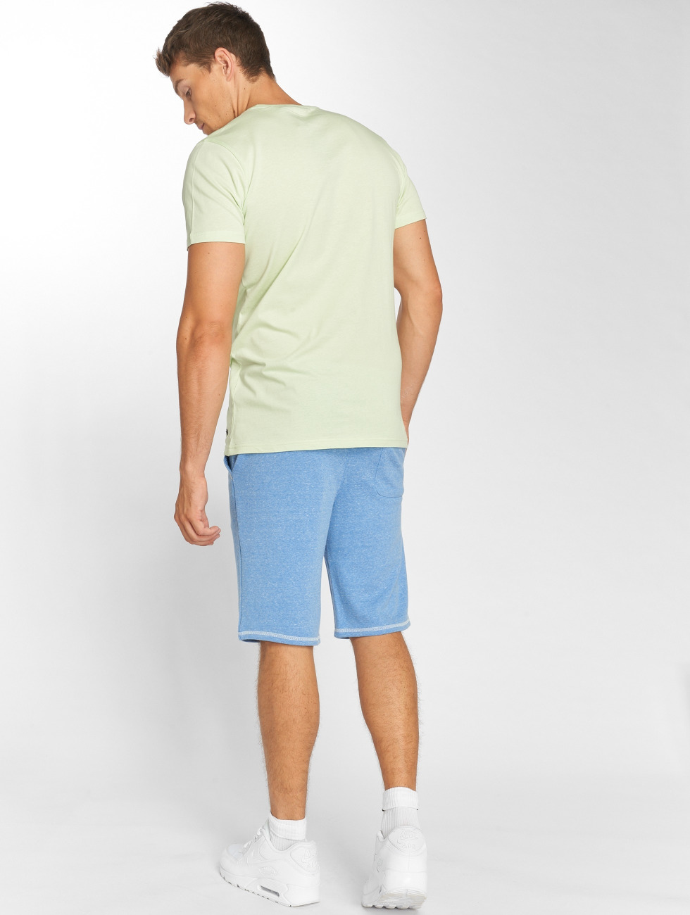 Solid T-shirt Omar grön