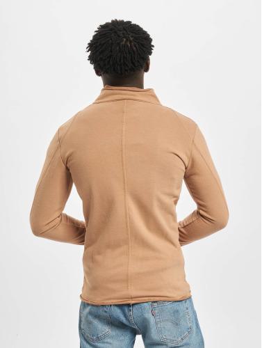2Y Hombres Chaqueta de entretiempo Sweat in marrón