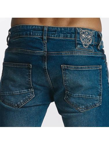2Y Hombres Jeans ajustado Joshua in azul