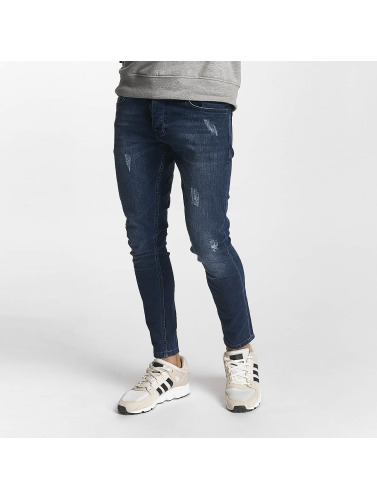 2Y Hombres Jeans ajustado Henry in azul