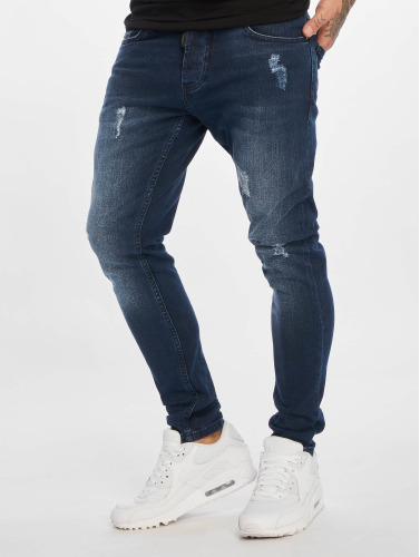 2Y Hombres Jeans ajustado Charlie in azul
