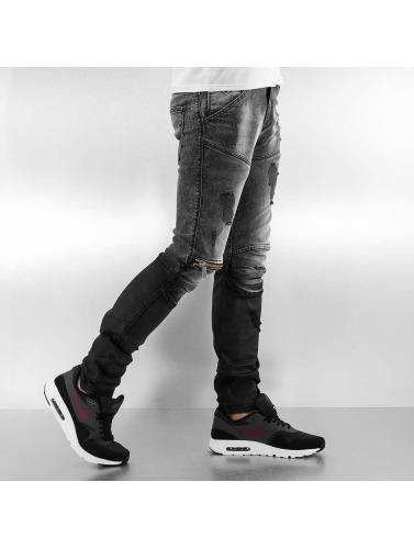 2Y Hombres Jeans ajustado Addison in gris