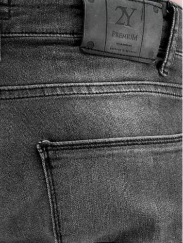 2Y Hombres Jeans ajustado Latan in gris