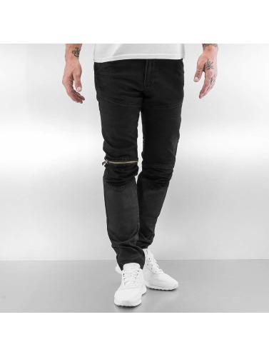 2Y Hombres Jeans ajustado Avery in negro