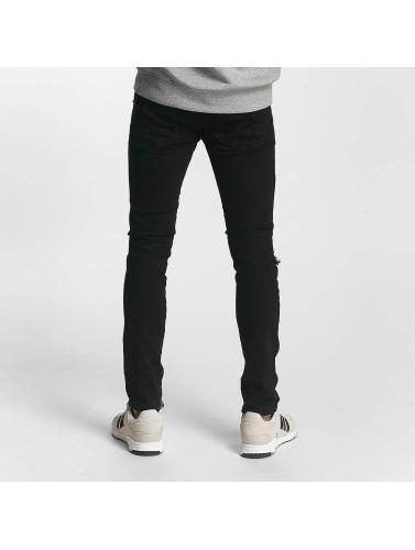 2Y Hombres Jeans ajustado Alexander in negro