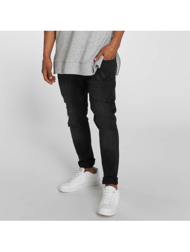 2Y Hombres Jeans ajustado Joshua in negro