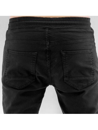 2Y Herren Jogginghose Leeds in schwarz