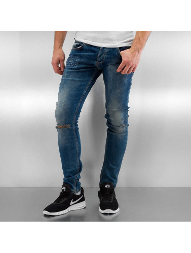 2Y Herren Skinny Jeans Jaxon in blau