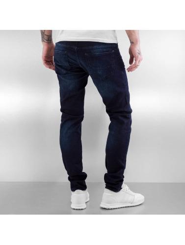 2Y Herren Skinny Jeans Ganesh in blau