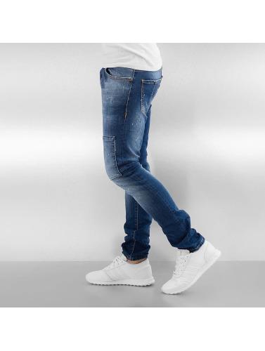 2Y Herren Skinny Jeans Naresh in blau