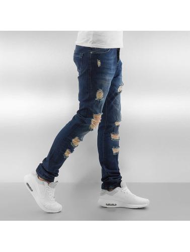 2Y Herren Skinny Jeans Grover in blau