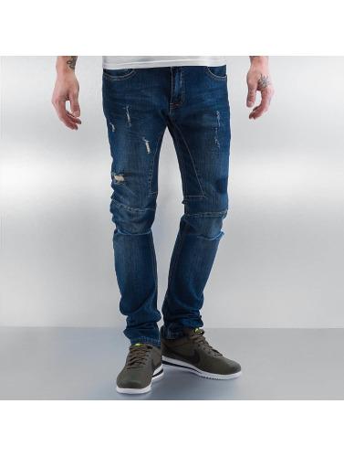 2Y Herren Skinny Jeans Brest in blau