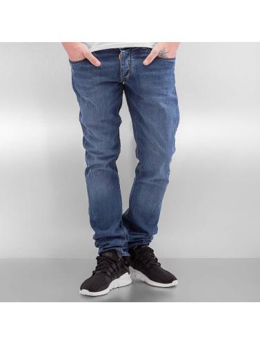 2Y Herren Skinny Jeans Anderlecht in blau
