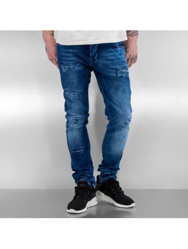 2Y Herren Skinny Jeans Ofnir in blau