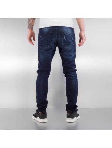 2Y Herren Skinny Jeans Liverpool in blau