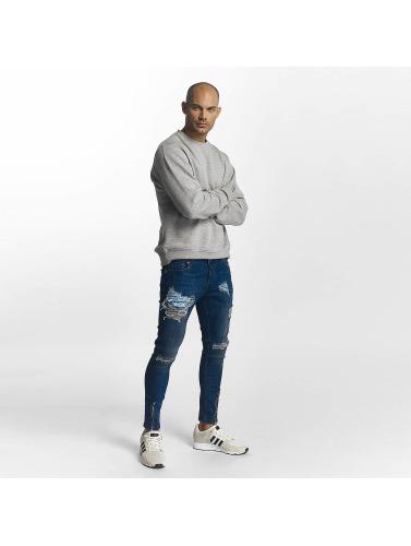 2Y Herren Skinny Jeans James in blau