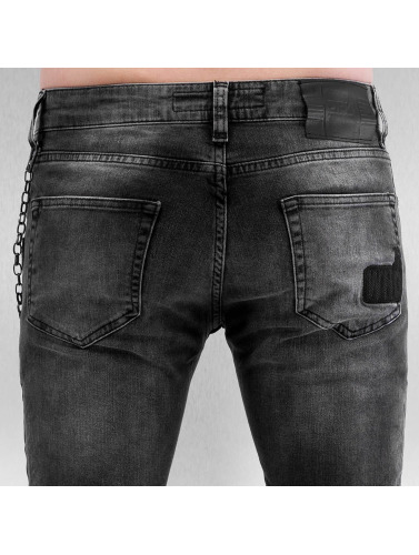 2Y Herren Skinny Jeans Airborne in grau