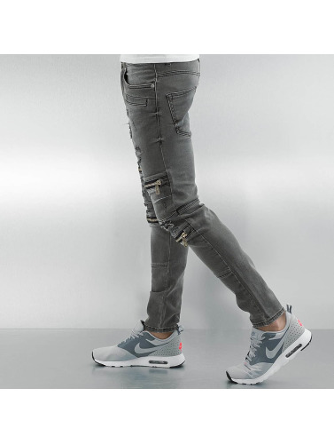 2y Lord Skinny Jeans Braga In Grau