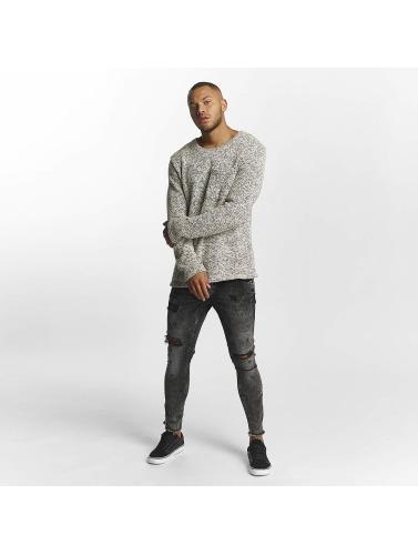 2Y Herren Skinny Jeans Daniel in grau