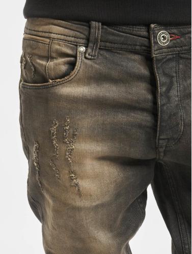 2Y Herren Skinny Jeans Coventry in schwarz