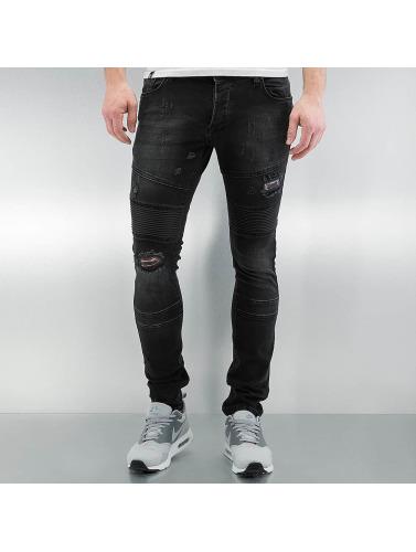2Y Herren Skinny Jeans Sintra in schwarz