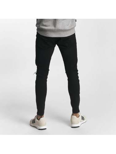 2Y Herren Skinny Jeans Samuel in schwarz
