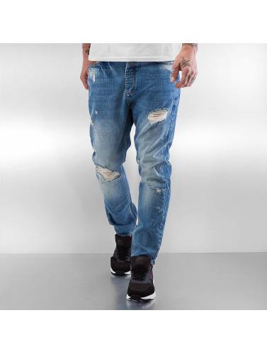 2Y Herren Slim Fit Jeans Harley in blau