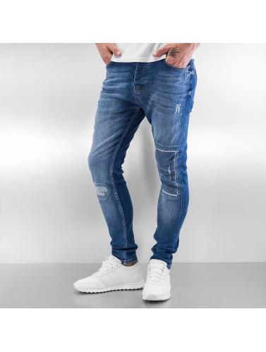 2Y Herren Slim Fit Jeans Kelsey in blau