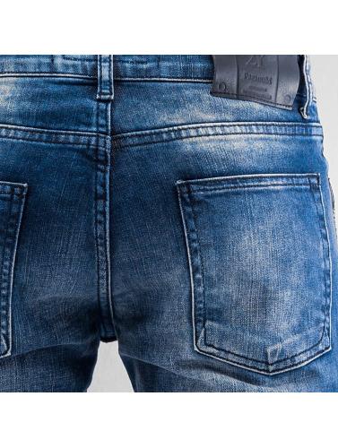 2Y Herren Slim Fit Jeans Aenna in blau