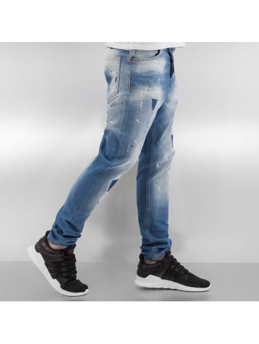 2Y Herren Slim Fit Jeans Namur in blau