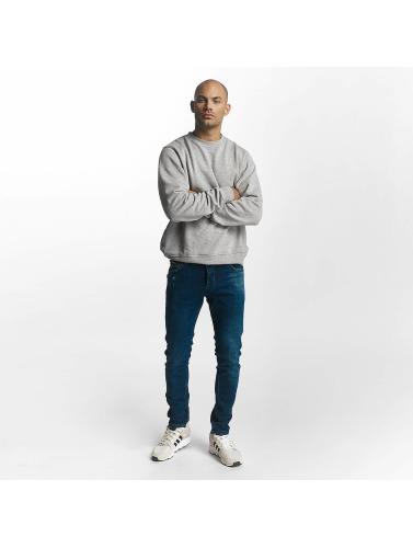 2Y Herren Slim Fit Jeans Leo in blau