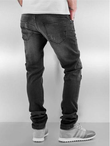 2y Men Slim Fit Jeans In Gray Latan