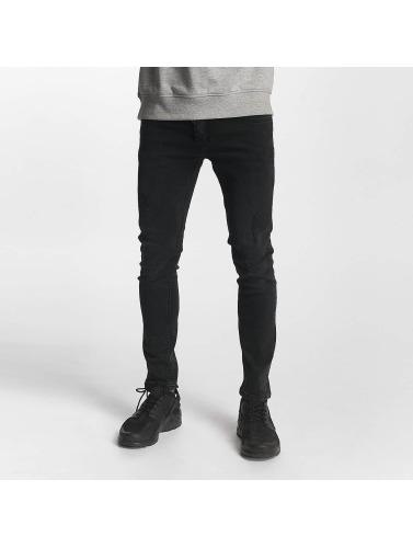 2Y Herren Slim Fit Jeans Oliver in schwarz